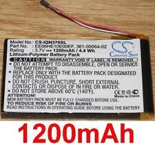Battery 1200mAh type 361-00064-02 EE06HE10E00EF For Garmin Nuvi 3760