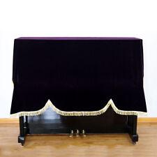 More details for soft velvet upright piano half cover for 118-131 standard covers uk dustproof -u