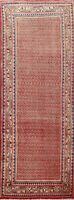 All-Over Semi Antique Paisley Botemir Runner Rug Wool Hand-knotted Oriental 4x10