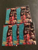 1996 Signature Rookies Joe Smith 5 Card Lot Sports Heroes #1 Warriors PWE