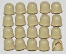 LEGO LOT OF 20 NEW TAN MID LENGTH FEMALE HAIR GIRLS WIG PIECES
