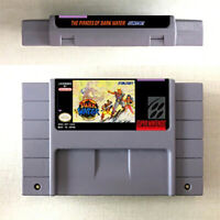 The Pirates Of Dark Water Game Console Card For Nintendo SNES US Vers 16 Bit Eng