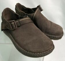 Chaco Pedshed - Brown Slip On Suede Leather Closed Toe Women's SZ 4 EUC