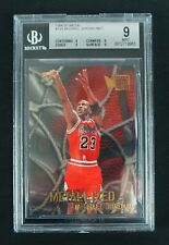 Michael Jordan 1996-97 Fleer Skybox Metal #128 BGS 9 MINT (Subs: 9 9 9 9 )