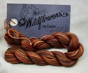 Caron Wildflowers 1 ply pima cotton 36 yds handpainted #Burnt Toast brown