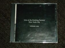 Live At The Knitting Factory Volume One (CD, 1989) Curlew Mark Dresser Tom Cora