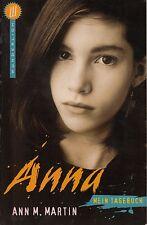 Ann M. Martin - ANNA Mein Tagebuch / Wunderlich Taschenbuch 1999