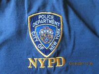 NYPD T shirt blue Large