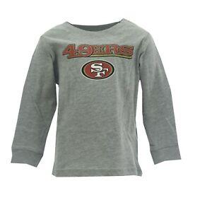 San Francisco 49ers Official NFL Apparel Infant Toddler Size Long Sleeve Shirt