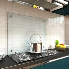 6mm 90x60CM Küchenrückwand Fliesenspiegel Glasplatte Rückwand Klar ESG