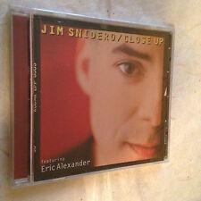 JIM SNIDERO FEATURING ERIC ALEXANDER CD CLOSE UP MCD-9341-2 2004 JAZZ