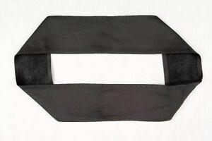 Couverture de Volant Cuir Noir Couture Spécifique sur Mesure Pour Scania Série R