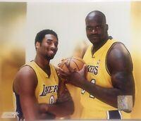 Kobe Bryant Rare Photo File Shaquille 8x10 Los Angeles Lakers License Photo NBA