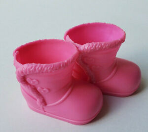 Fisher Price Little Mommy Replacement Pink Boots, From 2011 Doll