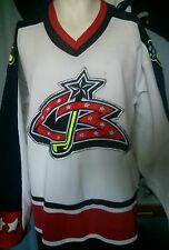 Vintage Columbus Blue Jackets youth jersey NHL