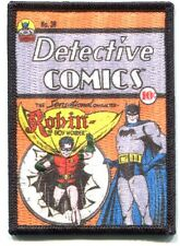 BATMAN detective comics EMBROIDERED IRON-ON PATCH *FREE SHIP* d robin boy wonder
