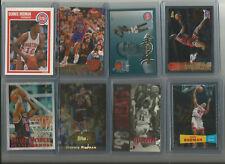 NBA Favorite Forward Dennis Rodman 8-Card Lot
