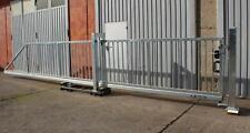 6,0x1,3 Meter mv Industrietor Schiebetor Hoftor freitragend - SOFORT verfügbar