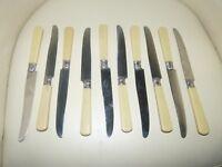 Ancien service de 10 couteaux