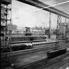 ALLEMAGNE c. 1956 - Maquette Trains Usine Cokeric Munich- Négatif 6 x 6 - ALL 26