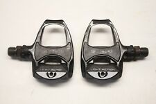 """Shimano PD-R540 SPD SL Black Clipless Road Bike 9/16"""" Pedals - Used Clip In"""