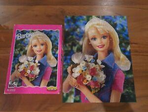 Vintage 1998 Mattel Barbie Spear's Games Jigsaw Puzzle 100pc 37x28cm