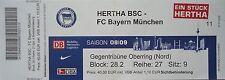 TICKET 2008/09 Hertha BSC Berlin - Bayern München