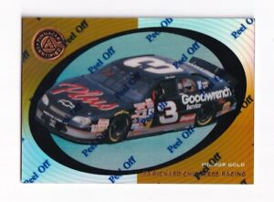 1997 Pinnacle Certified MIRROR GOLD #37 Dale Earnhardt's Car BV$25! SUPER SCARCE