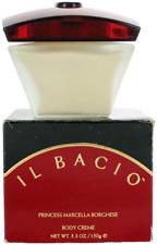 Il Bacio By Princess Marcella Borghese For Women Body Cream 5.3oz Shopworn New