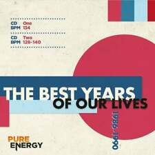 Best Years Of Our Lives 1986-90 Double Aerobics Fitness Continuous Mix Music CDs