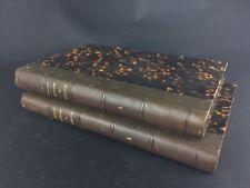 Collection livres anciens «Histoire de france - J.Michelet tome 4 & 5 J.Hetzel