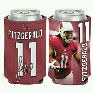 LARRY FITZGERALD ARIZONA CARDINALS Can Bottle Coozie Cooler FREE SHIPPING!