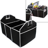 Car Auto Trunk Organizer Collapsible Folding Caddy Truck Black Storage Bin Bag