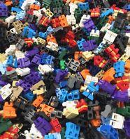 LEGO BULK 100 NEW MINIFIGURE MINIFIG LEGS PANTS CITY TOWN FIGURE BODY PARTS
