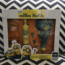 Minions Tiny Chef Let's Make Cookies! Zak Designs 7 Piece Set