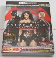 Batman vs Superman Dawn of Justice Ultimate Edition 4K ULTRA HD+3D+Blu-ray Japan