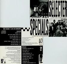 THE SELECTER / THE SPECIALS - BBC RADIO ONE LIVE IN CONCERT