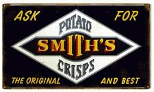 Potato Smith's Crisps Reproduction Advertisement Sign