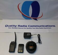 Motorola Ex500 136 174 Mhz Vhf Two Way Radio W Charger Aah38kdc9aa3an
