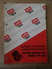 aprilia  . motor 348 . workshop manual