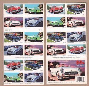 US #3935b MNH Booklet CV$32.00 2005 Sporty Cars Nash USPS Orig Pkg [P1111 BC209]
