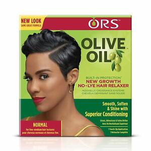 ORS Olive Oil Built-In Protection New Growth No-Lye Hair Relaxer Normal 1 Touch