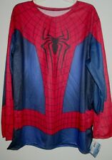 Amazing SPIDER-MAN 2 Mens COSTUME SHIRT L 42-44 New Marvel ADULT Spider