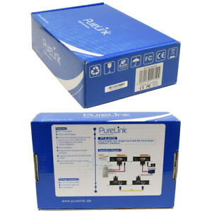 PureLink PT-E-DV30 Puretools DVI Extender over Single Cat.X RS-232  new neu