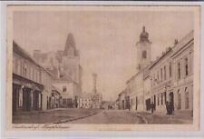 AK Zistersdorf, Hauptstrasse, Gasthof z. gold. Krone 1926