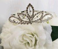 Club Libby Lu Princess Girl Tiara Clear Fancy Diamonds Small Crown Flower Girl