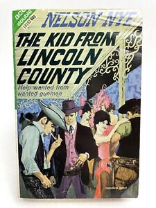 THE KID FROM LINCOLN COUNTRY/DEATH VALLEY SLIM Nelson Nye ACE DOUBLE Western 1ST