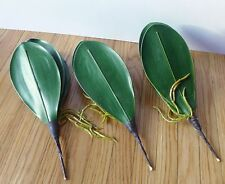 3 Butterfly Orchid Leaf Artificial Grass Bush For Orchid Flowers