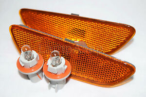 Front Side Signal Parking Marker Light Lamps One Pair Fit 2012-2015 Captiva