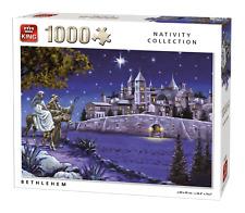 1000 piezas Natividad Puzle Rompecabezas BELÉN ESTABLO holy Birth De Cristo